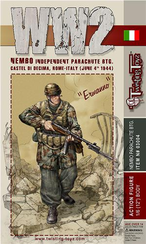 TT04 1/6 TwistingToyz- WW2 Ermanno Boxset