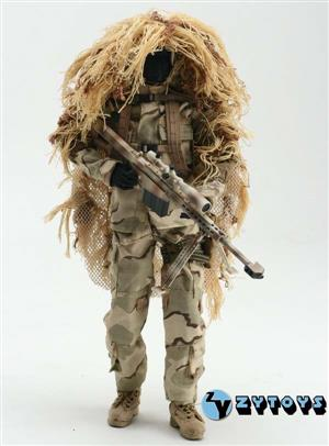 TA52-BX 1/6 ZYTOYS - Special combat sniper suit