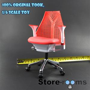 Z20-04 1/6 Scale ZCWO Office Chair ( Red )