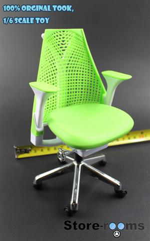 Z20-07 1/6 Scale ZCWO Office Chair ( Green)